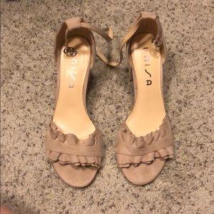 Unisa heels barely worn. 9.5